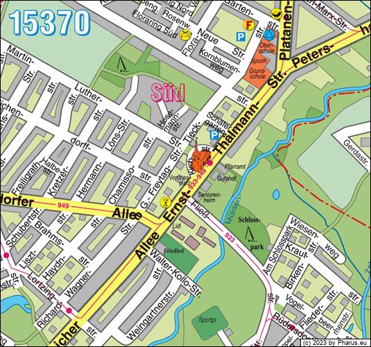 15370 Brandenburg - Fredersdorf