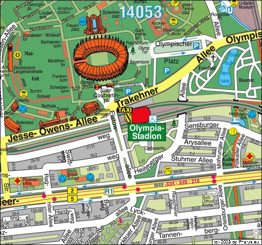s-bahnhof olympiastadion berlin  14055 berlin