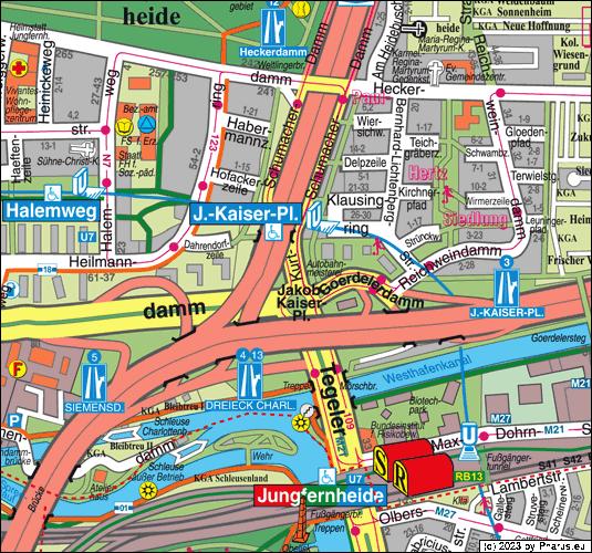 Kurt-schumacher-damm Berlin  13627 Berlin