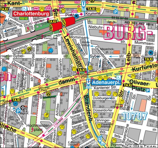 Adenauerplatz Berlin 10629 Berlin Charlottenburg