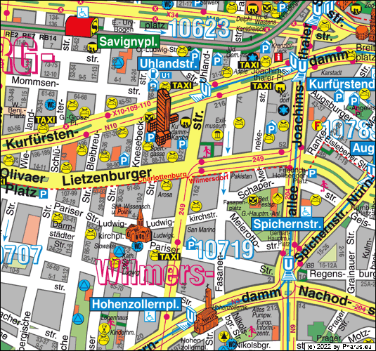 Uhlandstraße Berlin, 10719 Berlin  Wilmersdorf