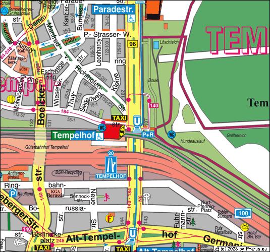 Tempelhofer Damm Berlin 12099 Berlin Tempelhof