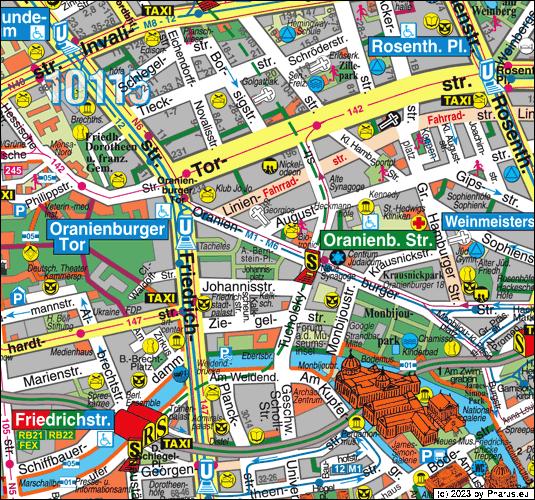 Map Berlin Mitte