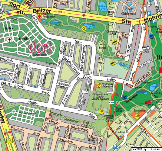 Wildspitzweg Berlin, 12107 Berlin - Mariendorf