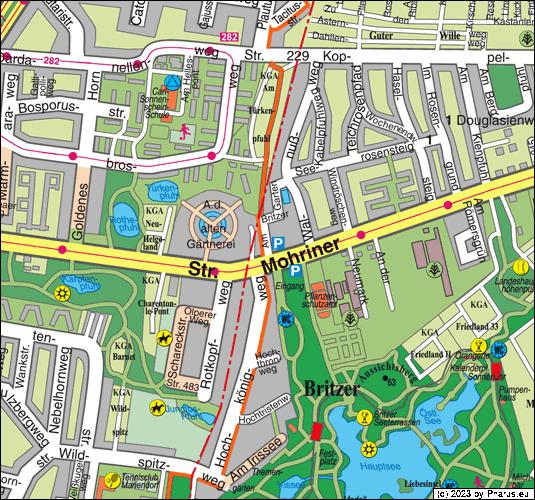 Britzer Garten Berlin Adresse : Am Britzer Garten Berlin, 12347 Berlin - Britz im Stadtplan Berlin ...