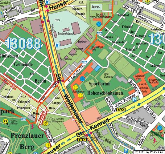 Schwimmhalle Sportforum Berlin 13053 Berlin Alt
