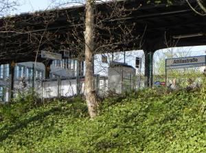 S-Bahnhof Attilastraße, Berlin-Tempelhof, Teltowkanal, Teltowkanalweg, Nord-Süd-Weg