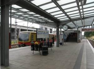Bahnsteig S Landsberger Allee,
