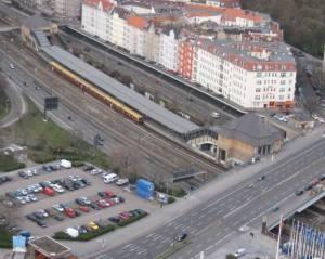 Bahnhof Messe Nord (2008) S-Bahnhof Messe Nord / ICC, Messe, Lietzensee, Zentraler Omnibusbahnhof