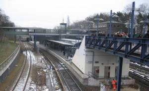 S-Bahnhof Messe-Süd (2009) S-Bahnhof Messe Süd (Eichkamp), Berlin-Charlottenburg, Messegelände