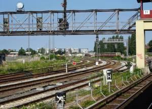 S-Bahnhof Tempelhof (2016) S-Bahnhof Tempelhof, Berlin-Tempelhof, Tempelhofer Feld