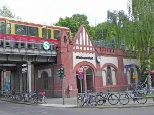 S-Bahnhof Waidmannslust (2014) S-Bahnhof Waidmannslust, Nordmeile, Tegeler Fließ, Steinbergpark