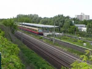 S-Bahnhof Wartenberg (2012) S-Bahnhof Wartenberg, Wartenberger Feldmark, Naturschutzgebiet Malchower Aue, Wustrower Park, Höhenweg