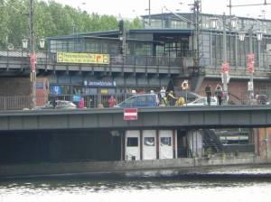 U-Bahnhof Jannowitzbrücke, Berlin-Mitte, Spree, Märkisches Museum, Historischer Hafen