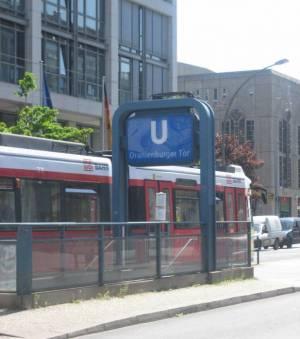U-Bahnhof Oranienburger Tor (2008) U-Bahnhof Oranienburger Tor, Friedrichstraße, Oranienburger Straße