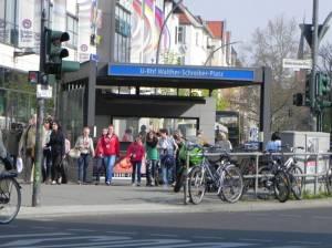 U-Bahnhof Walther-Schreiber-Platz (2013) U-Bahnhof Walther-Schreiber-Platz, Berlin-Friedenau, Schloßstraße, Bundesallee, Rheinstraße