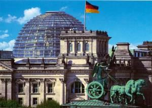 Reichstag, Berlin-Tiergarten, Deutscher Bundestag