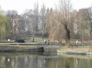 Klarensee und Alter Park (2011) Klarensee, Berlin-Tempelhof, Alter Park