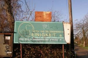 Kleingartenanlage Einigkeit, Rosenthal