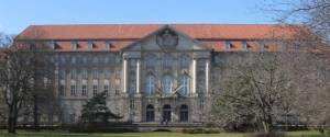 Kammergericht (2009) Heinrich-von-Kleist-Park, Berlin-Schöneberg, Kammergericht, Kollonaden