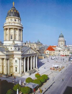 Deutscher Dom, Berlin-Mitte, Gendarmenmarkt, Schauspielhaus, Französischer Dom