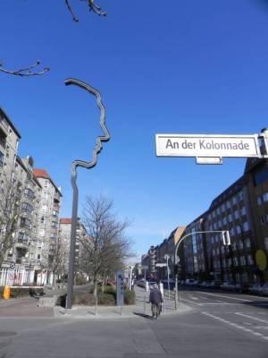 An der Kolonnade, Elser-Mahnmal (2012) An der Kolonnade, Berlin-Mitte, Elser-Mahnmal, Holocaust-Mahnmal, Ministergärten