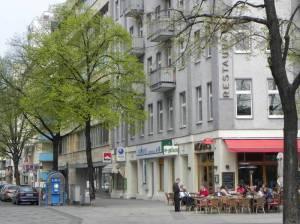Ansbacher Straße, Ecke Wittenbergplatz (2011) Ansbacher Straße, Berlin-Schöneberg, KdW, Tauentzienstraße