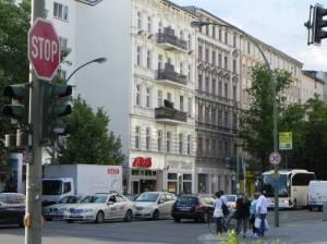 Beusselstraße (2014) Beusselstraße, Berlin-Moabit, Reformationskirche, Großmarkt, Westhafenkanal, Westhafen