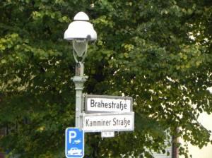 Brahestraße (2014) Brahestraße, Berlin-Charlottenburg, Gustav-Adolf-Gemeinde, Landgericht