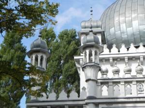 Ahmadiyya  Moschee (2014) Brienner Straße, Ahmadiyya  Moschee, Christianskirche der Dänischen Gemeinde