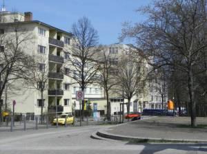 Crellestraße, Berlin-Schöneberg, Kleistpark, Langenscheidt, Wochenmarkt, Alter St. Matthäus Kirchhof
