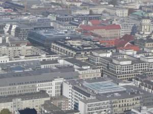 Friedrichstraße (2011) Friedrichstraße, Berlin-Mitte, Friedrichstadtpalast, Tränenpalast, Admiralspalast, Spree, Einkaufsmeile