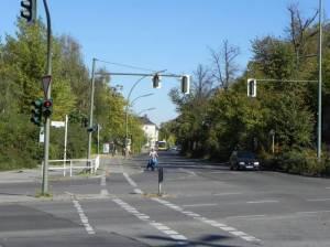 Gottlieb-Dunkel-Straße, Berlin-Tempelhof, Teltowkanal, Parkanlagen über dem Autobahntunnel