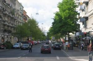 Gotzkowskystraße (2009) Gotzkowskystraße, Berlin-Moabit, Spree, Restaurants und Einkaufsmöglichkeiten