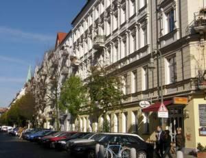 Greifenhagener Straße, Berlin-Prenzlauer Berg, Gethsemanekirche, Schönhauser-Allee-Arcaden