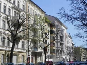 Großgörschenstraße, Berlin-Schöneberg, Alter St. Matthäus Kirchhof, Kleistpark, Park am Gleisdreieck, Silas-Kirche