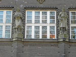 Grunowstraße, Berlin-Pankow, Elizabeth-Shaw-Grundschule, Feuerwehr, Bleichröderpark