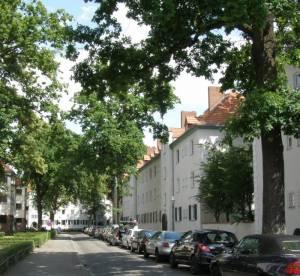 Harriesstraße (2011) Harriesstraße, Berlin-Siemensstadt, Jungfernheide, Wilhelm-von-Siemens-Park