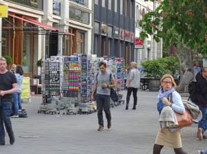 Hausvogteiplatz (2017) Hausvogteiplatz, Berlin-Mitte, Denkzeichen, Fontänenbrunnen