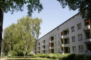 Heckerdamm, UNESCO-Weltkulturerbe (2009) Heckerdamm, Berlin-Charlottenburg, Volkspark Jungfernheide, Paul-Hertz-Siedlung, Siemensstadt