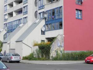 Heinrich-Schlusnus-Straße, Berlin-Neukölln, High-Deck-Siedlung, Herbert-Kraus-Park