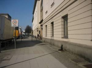 Hinter der Katholischen Kirche, Berlin-Mitte,