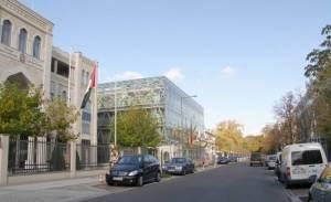 Hiroshimastraße, Berlin-Tiergarten, Großer Tiergarten, Botschaftsgebäude