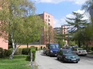 Holzmindener Straße, Berlin-Britz, Teltowkanal, BVG-Betriebshof