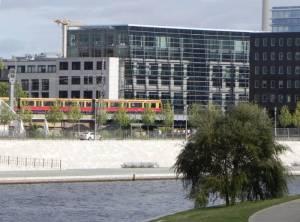 Kapelle-Ufer (2011) Kapelle-Ufer, Berlin-Mitte, Spreepromenade, Haus der Zukunft, Hauptbahnhof, Ministerium für Bildung und Forschung