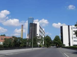 Komturstraße, Berlin-Tempelhof, Landwehrkanal, Industrie und Kleingärten
