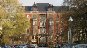 Lehrter Straße, Berlin-Moabit, Frauengefängnis, Fritz-Schloß-Park, Poststadion