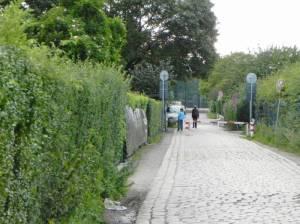 Matthäifriedhofsweg (2011) Matthäifriedhofsweg, Kleingartenanlagen, Friedhof Priesterweg, Hans-Baluschek-Park