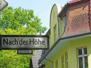 Nach der Höhe (2014) Nach der Höhe, Berlin-Waidmannslust, Tegeler Fließ, Steinbergpark