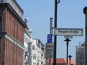 Naglerstraße, Berlin-Friedrichshain, Oberbaum-City